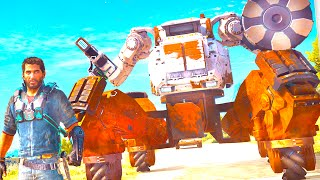 NEW INSANE Just Cause 3 DLC!! MECH Assault!!