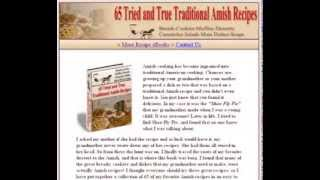 Free Amish Cookbook - Amish Recipes - Amish Food - Amish Cooking