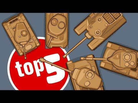 Top 5 cartoons about American Tanks | TankTricks