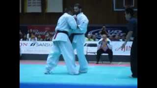 CLIP Kyokushin All American Open 2012: Kapanadze v Damyanov FINAL