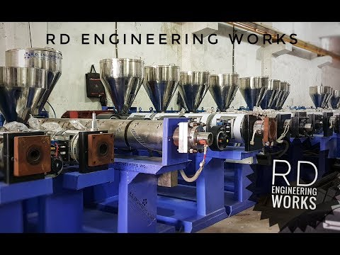 RD Engineering Works || Plastic Pipe Extrusion Machine Manufacturer