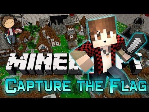 Minecraft: Capture the Flag w/Mitch & Jerome! (Nexus Mini-Game Mod!)