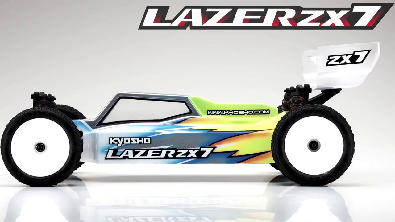 LAZER ZX7 1/10 EP 4WD Buggy KIT 30048 - KYOSHO RC