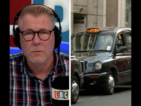 London Taxi Driver S Violent Crime Warning There Are Places I Won T Drive My Cab