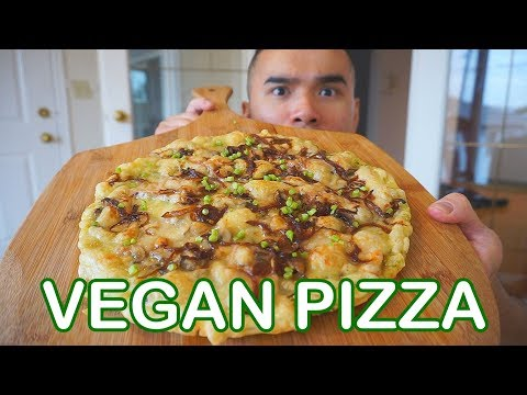 VEGAN PIZZA | Mukbang