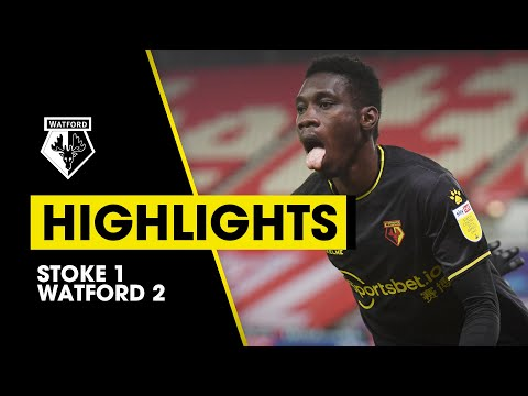Stoke Watford Goals And Highlights