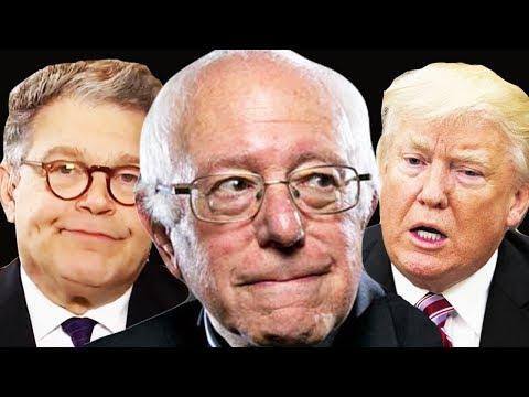 Bernie Sanders On Al Franken Resigning