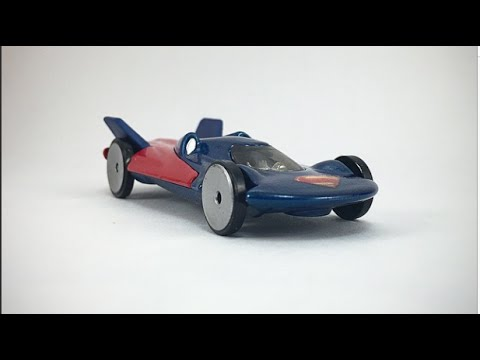Hot Wheels DC Comics Superman Man of Steel Review!