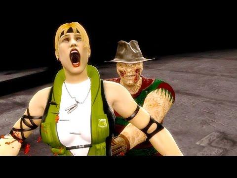 Mortal Kombat 9 - All Fatalities & X-Rays on Sonya Blade MK3 Costume Mod 4K Ultra HD Gameplay Mods
