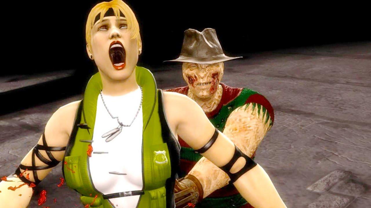 Mortal Kombat 9 All Fatalities X Rays On Sonya Blade Mk3 Costume Mod 4k Ultra Hd Gameplay Mods