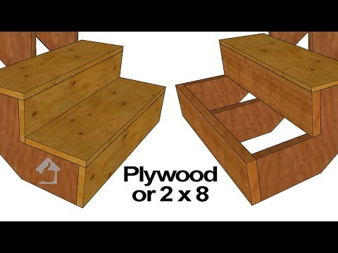 Should You Use 2 x 8 or Plywood Stair Risers?