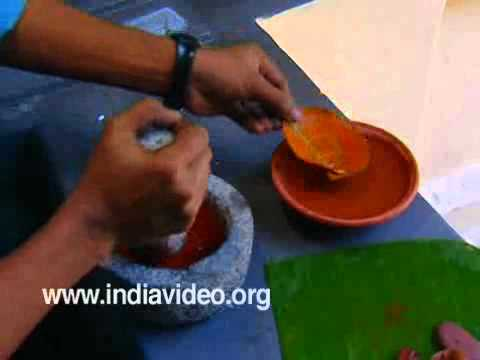 Mural Painting- Making Red Colour