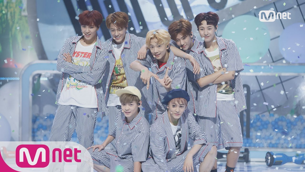 [NCT Dream - Chewing Gum] Comeback Stage | M COUNTDOWN 160825 EP 490