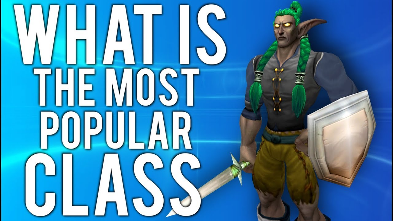 Which Classes Are Most Popular In Classic? - World of Warcraft Classic thumbnail