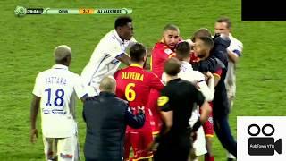 Bagarre entre Polomat et Barreto en plein match ! [Quevilly-Auxerre]