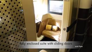 ETIHAD Airways First Class - a world of luxury ETIHAD primeira classe para São Paulo