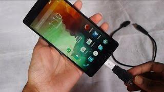 OnePlus 2 Supports 2TB External Hard Drive via USB OTG (USB Host)