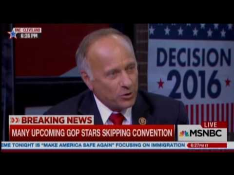 Steve King: Without rape and incest, 'Would there be any population of the world left?'