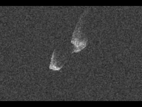 Big Asteroid's Closest Fly-By In At Least 400 Years - Radar Imagery | Video