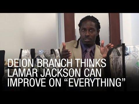 "Deion Branch Thinks Lamar Jackson Can Improve On ""Everything"""