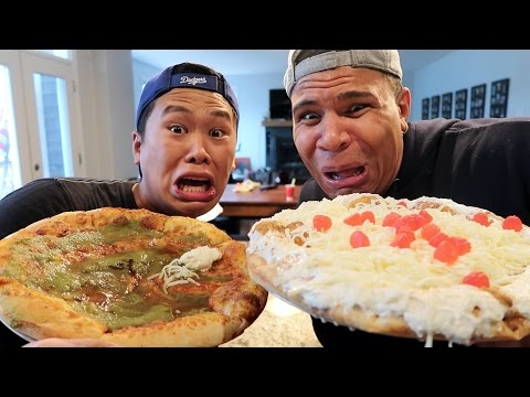 Thumbnail: CRAZY PIZZA CHALLENGE!!!