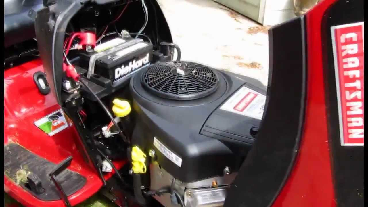 Craftsman YT4000 lawn tractor demonstration  YouTube