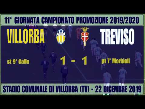 Villorba-Treviso 1-1, highlights 11° giornata campionato Promozione 2019-2020