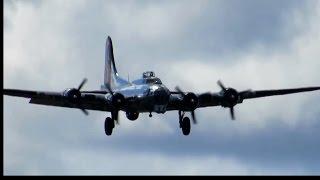Vintage Boeing B-17 G Yankee Lady Bomber