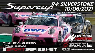 ESPORTSERIES.NET | SUPERCUP 2021 | R4 | SILVERSTONE
