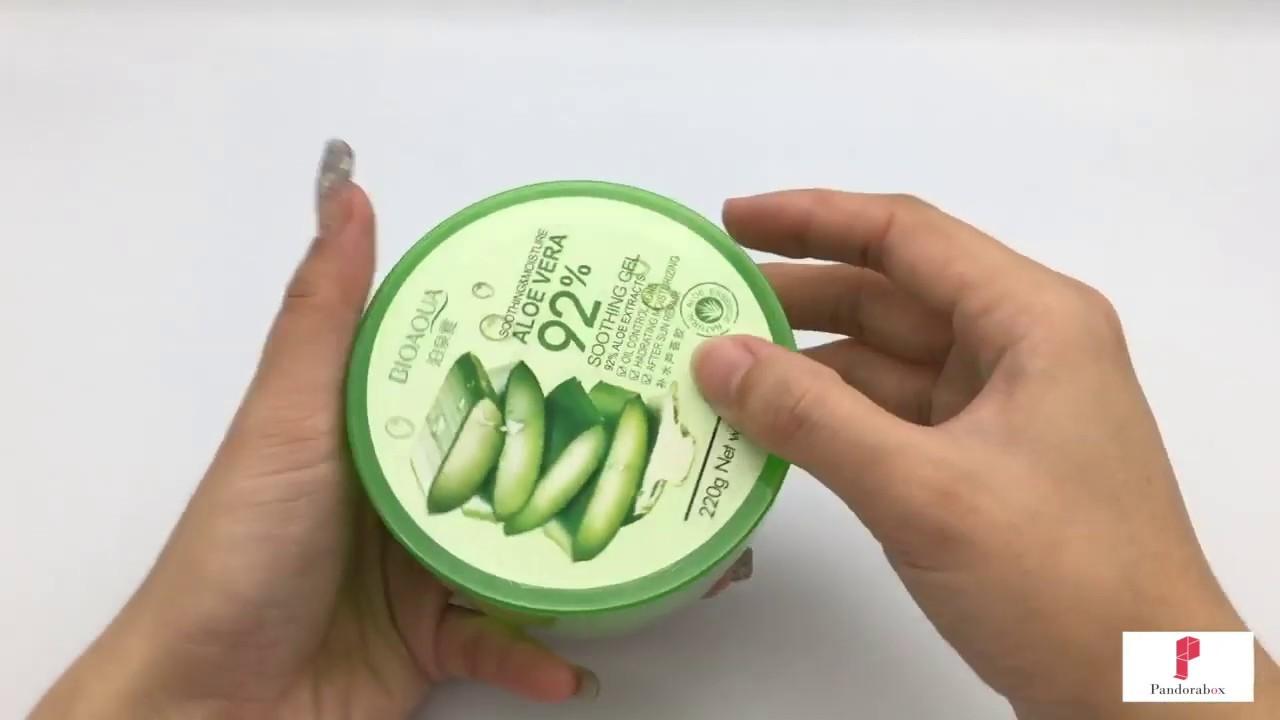Pandorabox Malaysiabioaqua Soothing Moisture Aloe Vera 92 Bioaqua Shooting Gel Original 220g