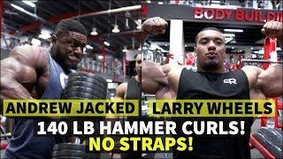 ARM BATTLE LARRY VS ANDREW