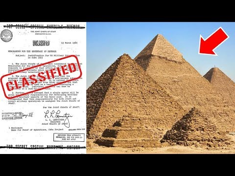 Bizarre Secret Files Released on Lost Ancient Human Civilizations…