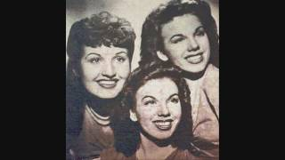 The Dinning Sisters - I Wonder Who