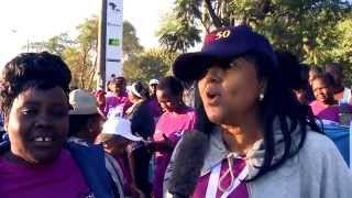 VIPs at The First Lady's Half Marathon 2015 #iambeyondzero