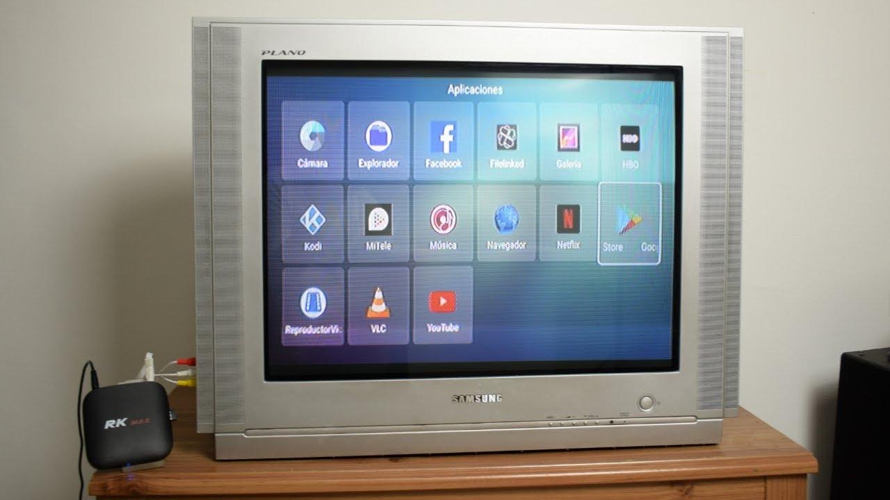 Convertir Cualquier Tv En Smart Tv Youtube