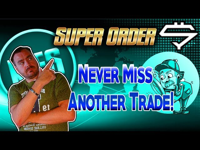 Superorder Cryptocurrency Trading Terminal. Never Miss a Trade Again!
