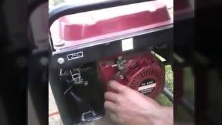 petrol generator  runs on biogas