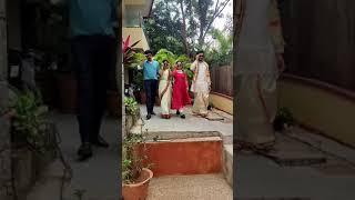 Kalyana Vaibhogam serial actors Meghanalokesh friendship video