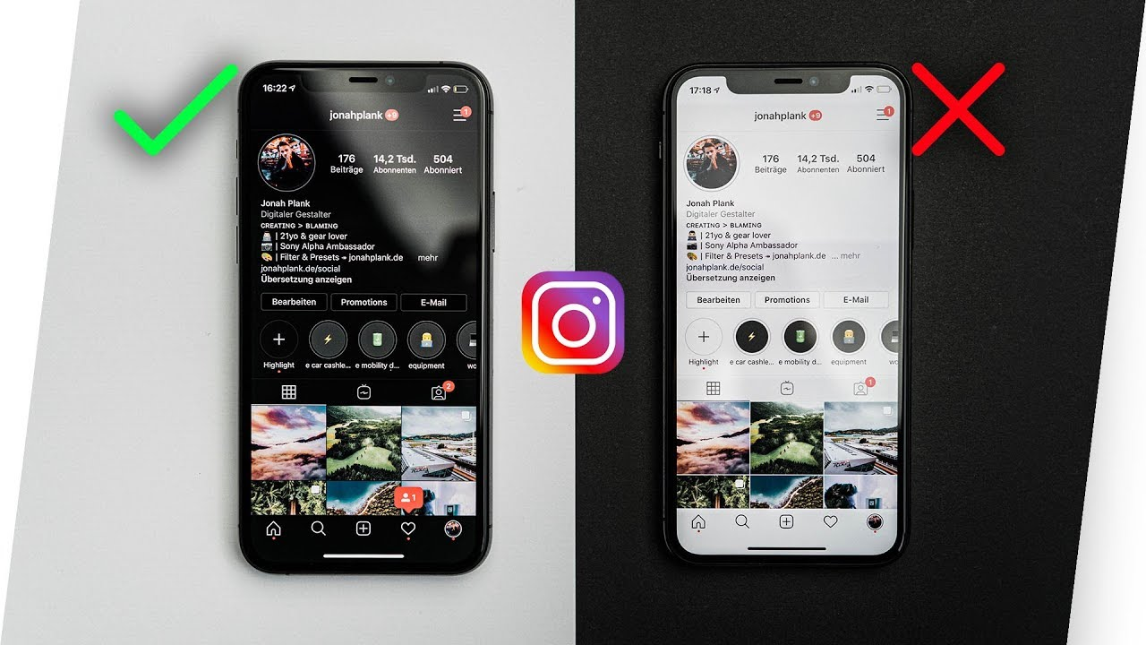 Instagram gets dark mode for iOS 13, Android 10