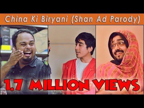China Ki Biryani | Shan Ad Parody | The Idiotz