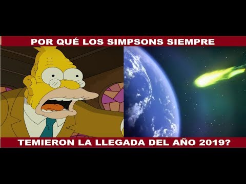 LAS PROFECIAS DE LOS SIMPSONS PARA 2019