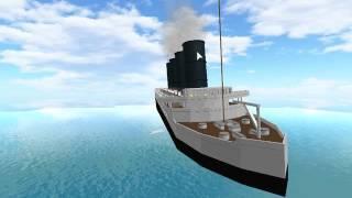 Roblox RMS Lusitania