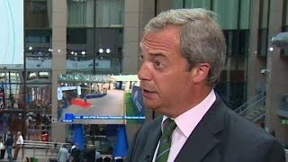 Farage on Brexit: Stop the nonsense about the markets