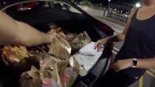 Tesla Model S (Grocery Shopping & Fun with Model S)