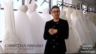 Inside Christian Siriano's Spring 2018 Bridal Collection | Unveiled | Martha Stewart Weddings