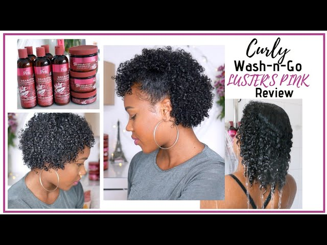 Super Moisturised Defined Curls| Luster's Pink Shea Butter & Coconut oil Review