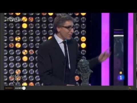 Discurso David Trueba Goya mejor director 2014