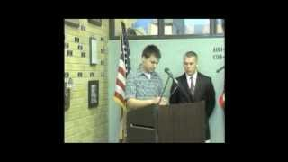 Pennsbury High School Wall of Honor Ceremony 2012