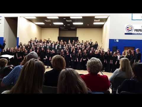 Temecula Preparatory School Winter Combined Choir 2017