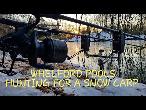 Ep172 - Whelford Pools, Hunting For A Snow Carp